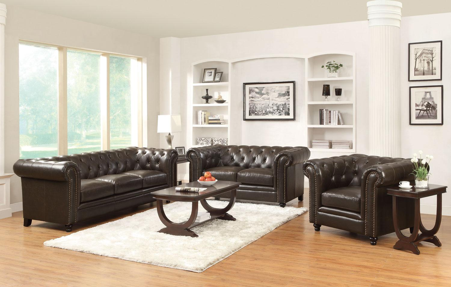 bonded co leather and sofa loveseat