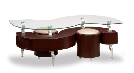 Contemporary tables for Light cherry coffee table
