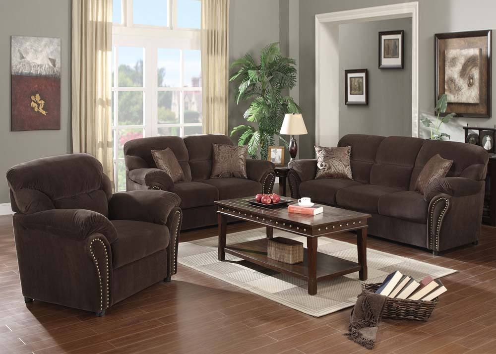 Preferred Fabric / Microfiber Sofa & Loveseat BF36