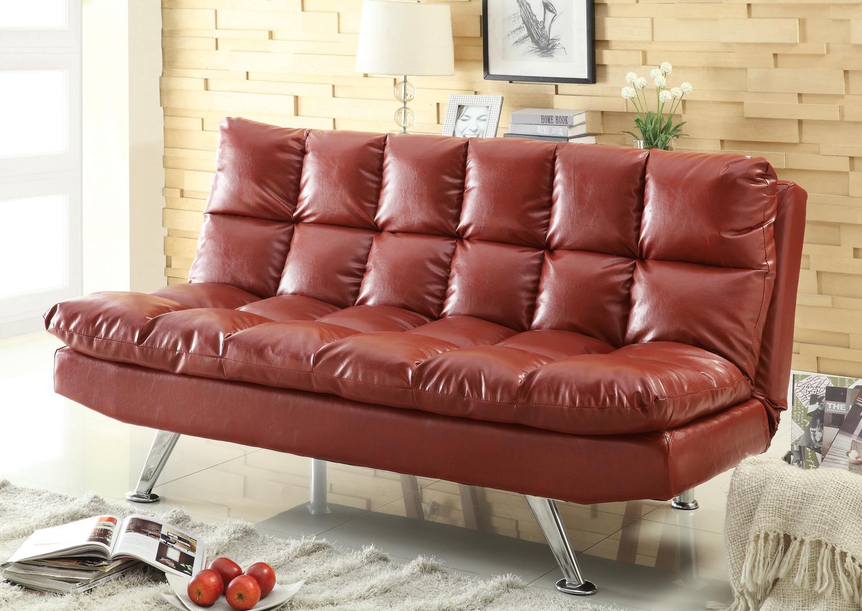 red vinyl sofa design dilemma choosing a leather sofa home find
