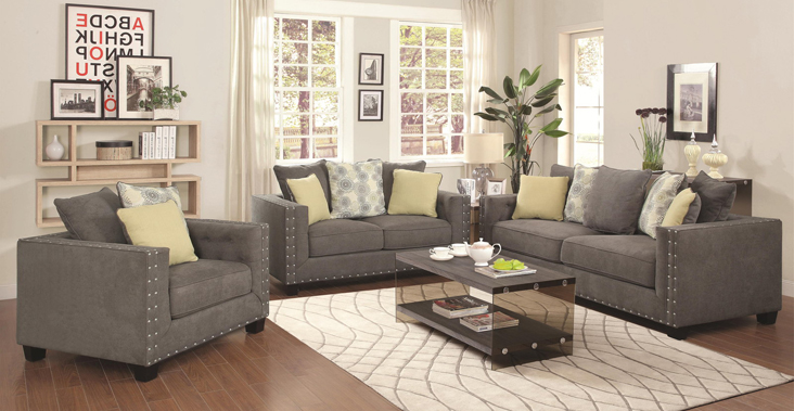 Living Room Loveseats Fabric Microfiber Sofa Loveseat
