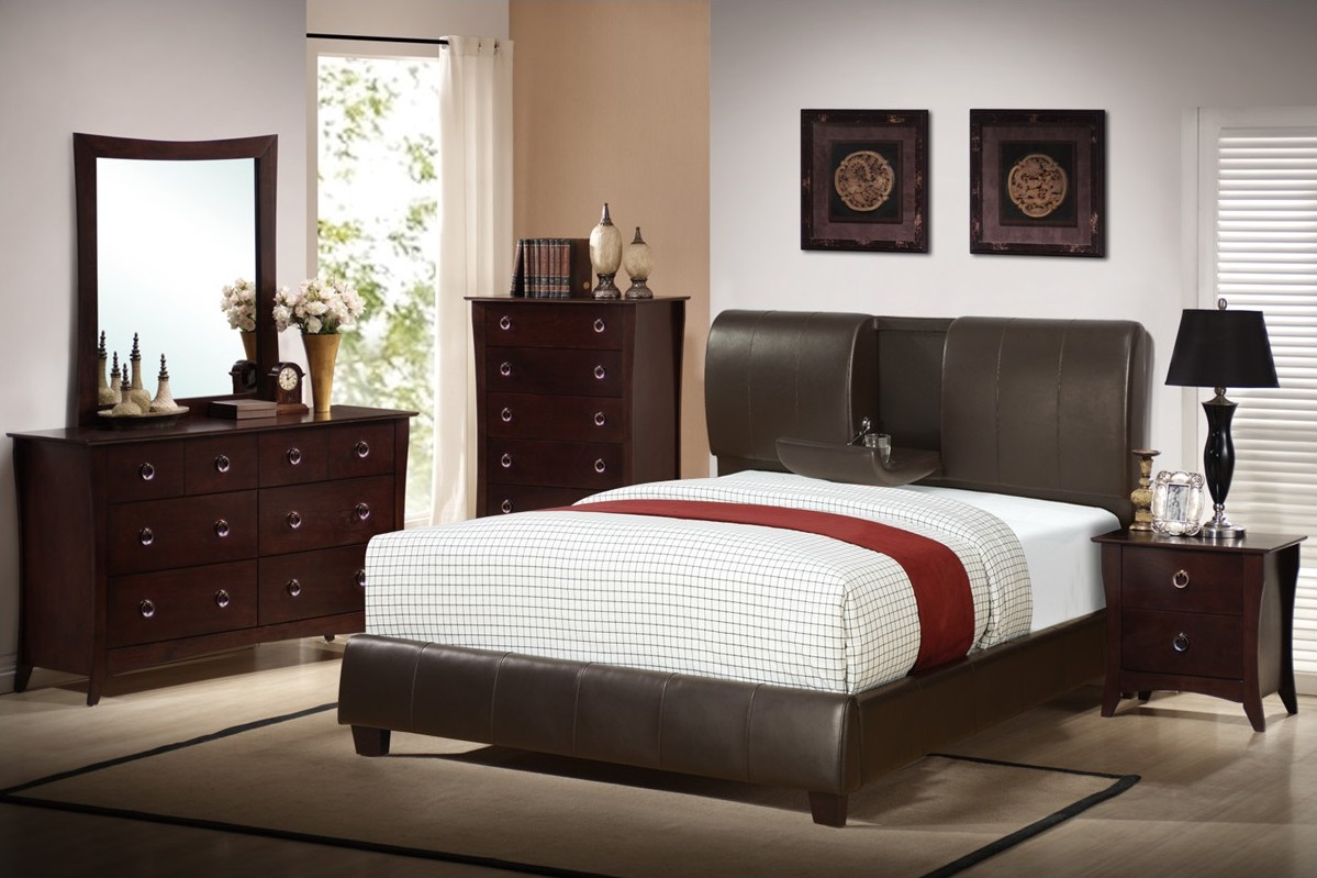 ... wood finish queen 8 pc set $ 989 king 8 pc set $ 1099 chest $ 399