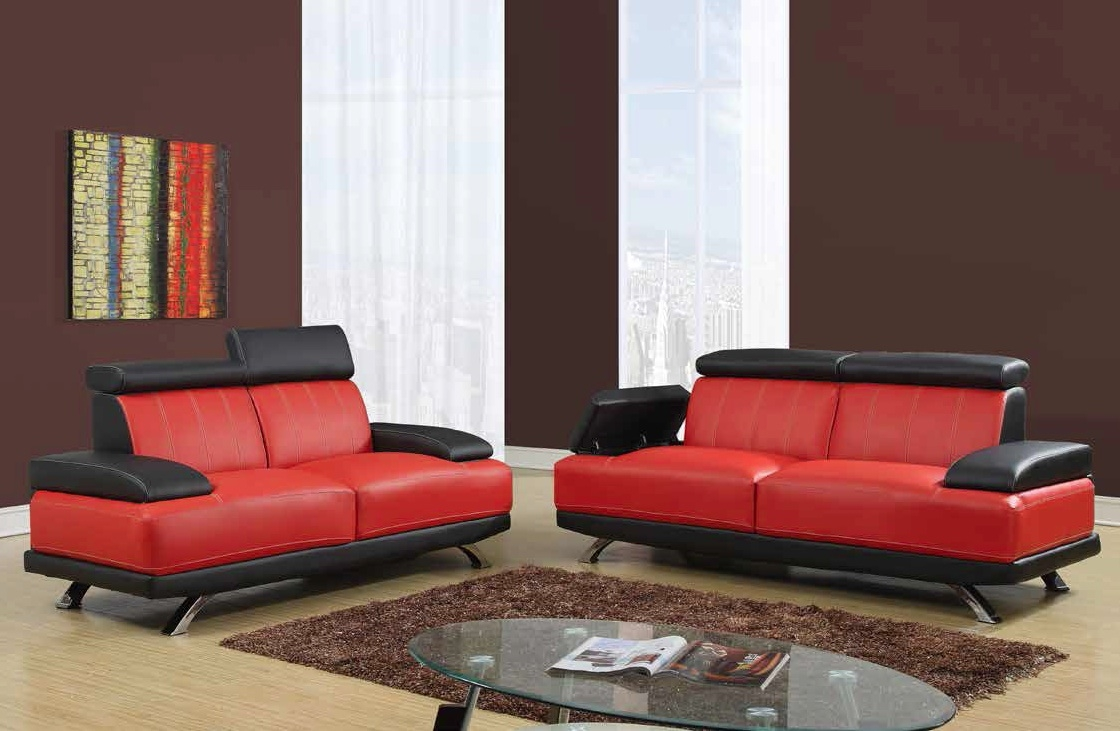 Contemporary Sofa Amp Loveseat