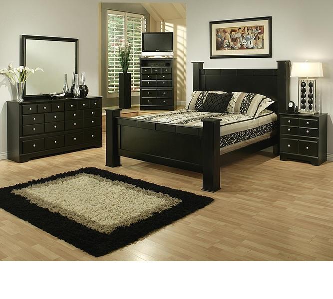 Best Price Bedroom Furniture: Wood Finish Bedroom